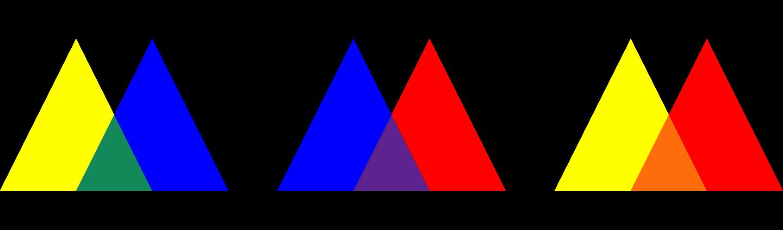 Основы дизайна - Вторичные цвета
