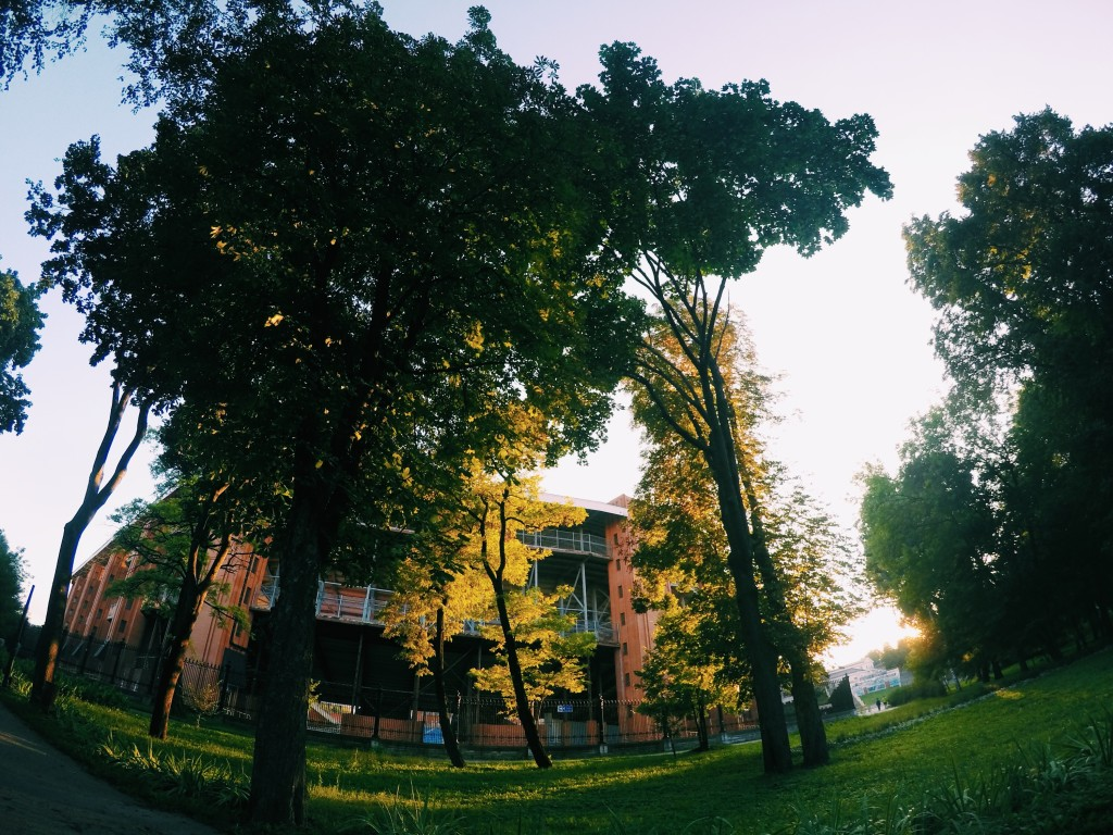 Парк имени Кожедуба Сумы